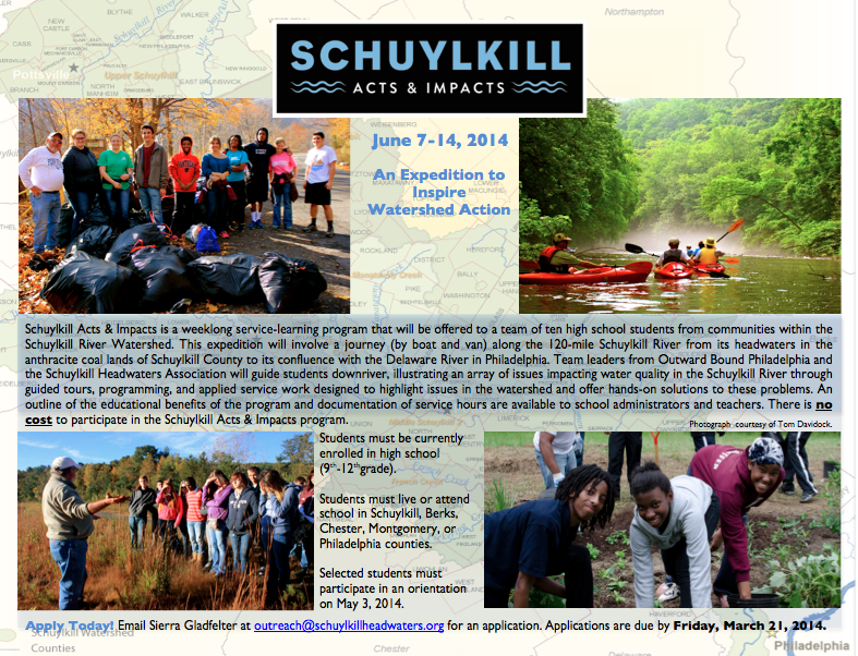 BCCD Partners with Schuylkill Headwaters Asso…